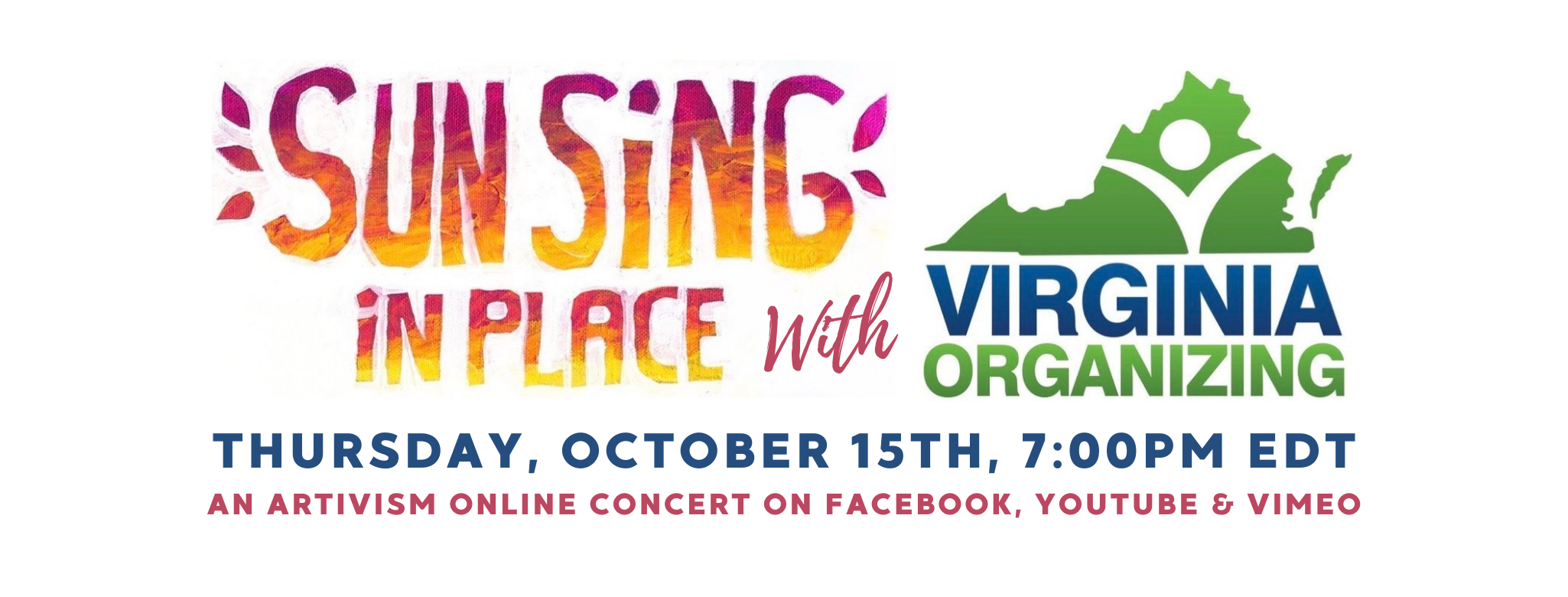 ARTivism Virginia Celebrates 10th SUN SiNG iN PLACE Concert!