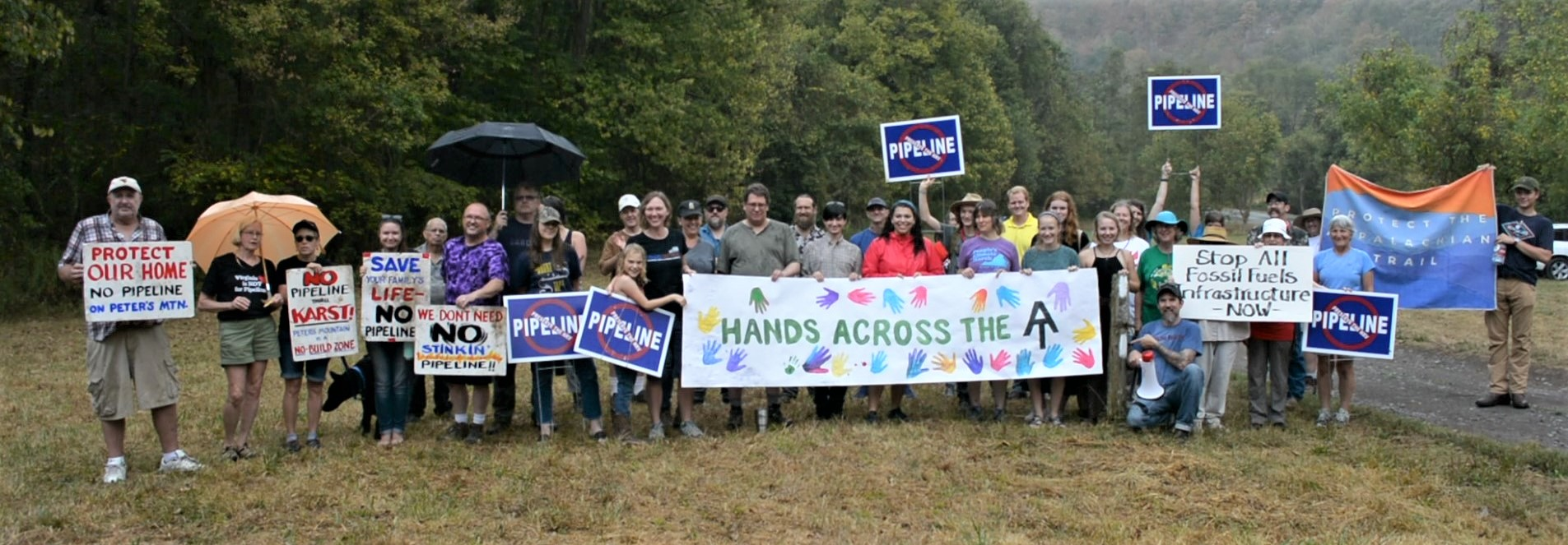 Celebrate the 5th Annual Hands Across the Appalachian Trail